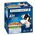 Felix  Multipack Aussi Bon que Beau avec Légumes en Gelée  24x100 g
