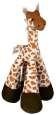 Trixie Giraffa con zampe lunghe, in peluche 33 cm