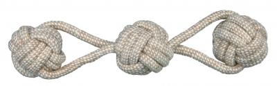 Trixie Sznur z pilka - suplem ø 8/37 cm Beżowy