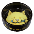 Ciotola in ceramica per Gatto, Do you like Fish 300 ml da Trixie