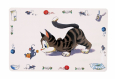 Trixie Place Mat - Comic Cat  Hvit
