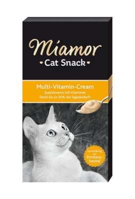Miamor Multi-Vitamin-Cream 6x15 g