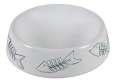 Ciotola in ceramica con disegno di pesce Trixie 250 ml