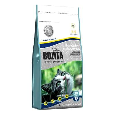 Bozita Feline Sensitive Diet & Stomach 400 g, 2 kg, 10 kg