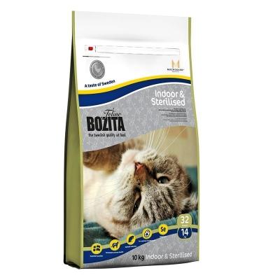 Bozita Feline Indoor & Sterilised mit schwedischem Hühnchenfleisch 400 g, 2 kg, 10 kg