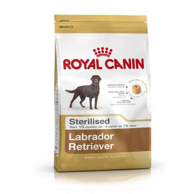 Royal Canin Breed Health Nutrition Labrador Retriever Sterilised  12 kg, 3 kg