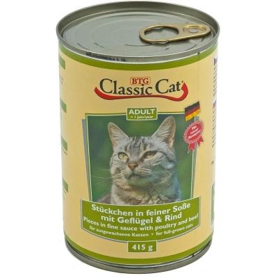 Classic Cat Soße mit Geflügel & Rind 415 g