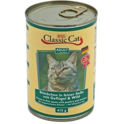 Classic Cat Soße mit Geflügel & Wild 415 g