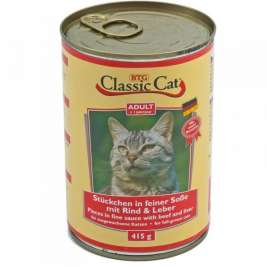 Classic Cat Sauce Beef & Liver  415 g