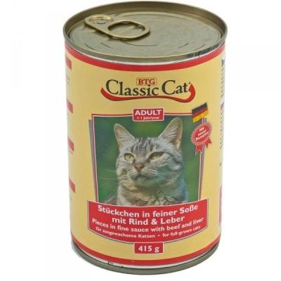 Classic Cat Sauce Beef & Liver 415 g