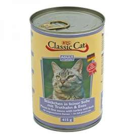Classic Cat Sauce with Turkey & Duck  415 g