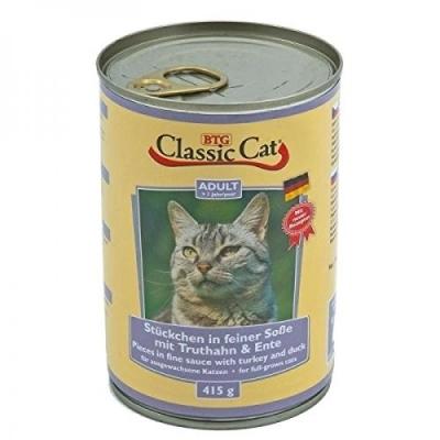 Classic Cat Soße mit Truthahn & Ente 415 g