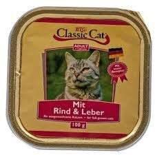 Classic Cat Rind & Leber 100 g