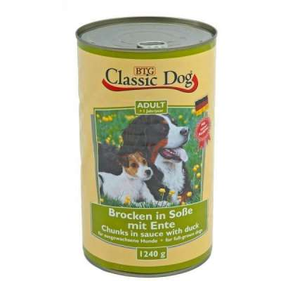 Classic Dog Can Duck  1.24 kg