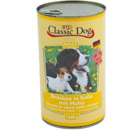 Classic Dog Can Chicken  1.24 kg