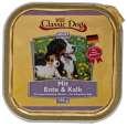 Classic Dog Aves Pato e Vitela 150 g - Alimento com carne de pato para cães