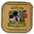 Bowl Poultry & Beef 150 g fra Classic Dog
