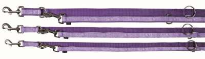 Trixie Impression Adjustable Leash  Flower Power, Violet 200x2.5 cm