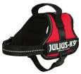 Julius K9 Powergeschirr, Mini-Mini/S Rot - Hundegeschirre für Dackel