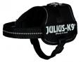 Julius K9 Powergeschirr, Baby 2/XS-S Schwarz - Hundegeschirre für Dackel
