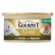 Purina Gourmet Gold - Fine Pâté with Duck and Spinach beställ till bra priser