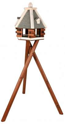Trixie Natura Futterhaus mit Ständer 43×146 cm