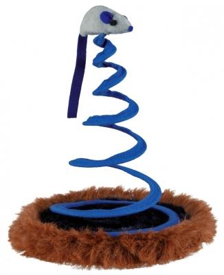 Trixie Maus auf Spiralfeder, Plüsch ø20×25 cm