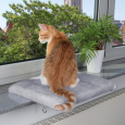 Trixie Resting Pad for Windowsills Light gray