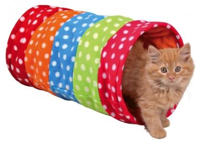 Trixie Spieltunnel, bunt Verschiedenfarbig ø25×50 cm