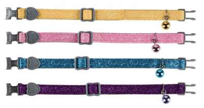 Trixie Cat Collar Glitter 30 cm