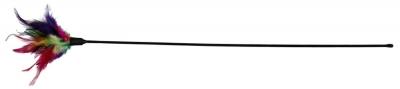 Trixie Spielstab mit Federn Verschiedenfarbig 50 cm