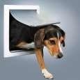 Trixie 2-vejs hundedør, S-M bestil til gode priser