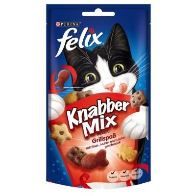 Felix Party Mix Mixed Grill Marhahús & Házityúk & Lazac 60 g