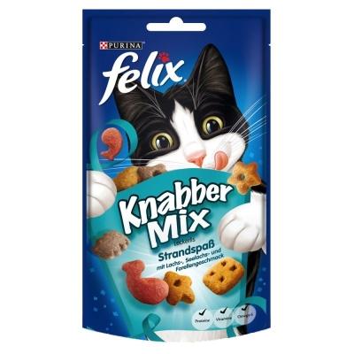 Felix Snack Party Mix Ocean Mix Salmone & Merluzzo & Trota 60 g