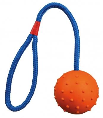 Trixie Ball am Seil mit Handschlaufe ø6/30 cm
