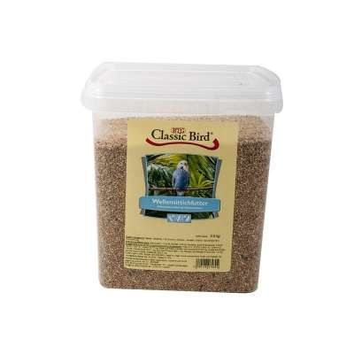 Classic Friends Wellensittichfutter Eimer  3.5 kg, 25 kg, 2.5 kg, 1 kg