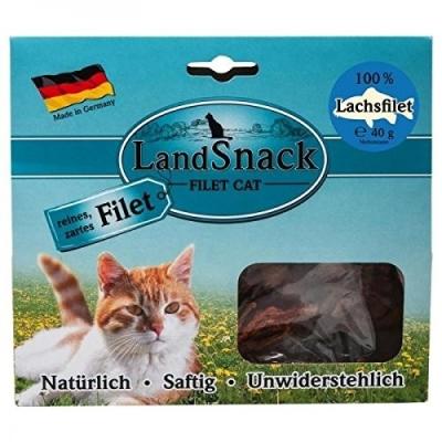 Landfleisch LandSnack Cat Filet - Lachs Lachs 40 g