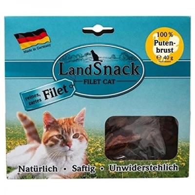Landfleisch LandSnack Cat Filet Putenbrust Putenbrust 40 g