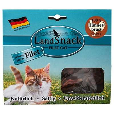 Landfleisch LandSnack Cat Fillet Chicken breast Kyllingbryst 40 g
