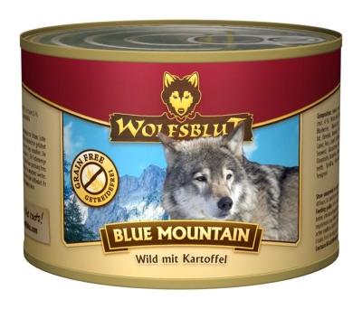 Wolfsblut Blue Mountain Wild with Potato  800 g, 200 g