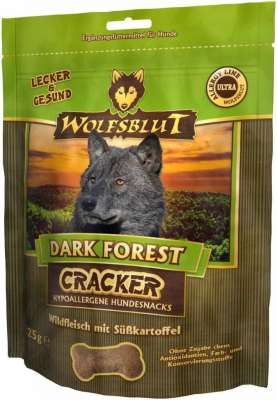 Wolfsblut Cracker Dark Forest Wild Θήραμα & Γλυκοπατάτα 225 g
