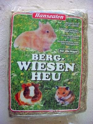 Hanseaten-Naturprodukte  Bergwiesenheu 4x2.5 kg
