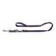 Adjustable Leash Nylon Violet fra Hunter