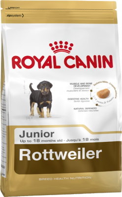 Royal Canin Breed Health Nutrition Rottweiler Junior 3 kg