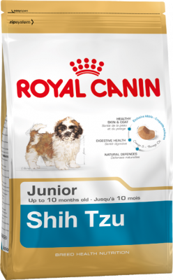 Royal Canin Breed Health Nutrition Shih Tzu Junior 500 g