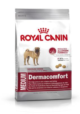 Royal Canin Size Health Nutrition Medium Dermacomfort  3 kg, 10 kg