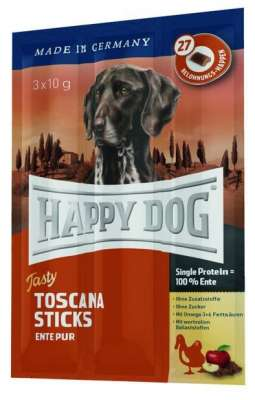 Happy Dog Tasty Toscana Sticks Réce 3x10 g