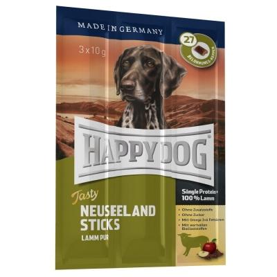 Happy Dog Tasty Neuseeland Sticks Lammas Karitsaa 3x10 g