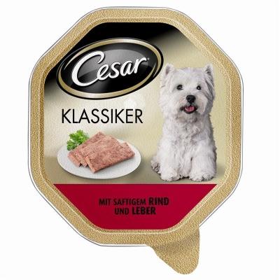 Cesar Classic Selection Okse & lever  150 g