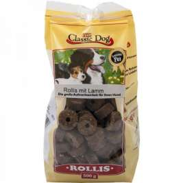 Classic Dog Snack Rollis with Lamb  500 g